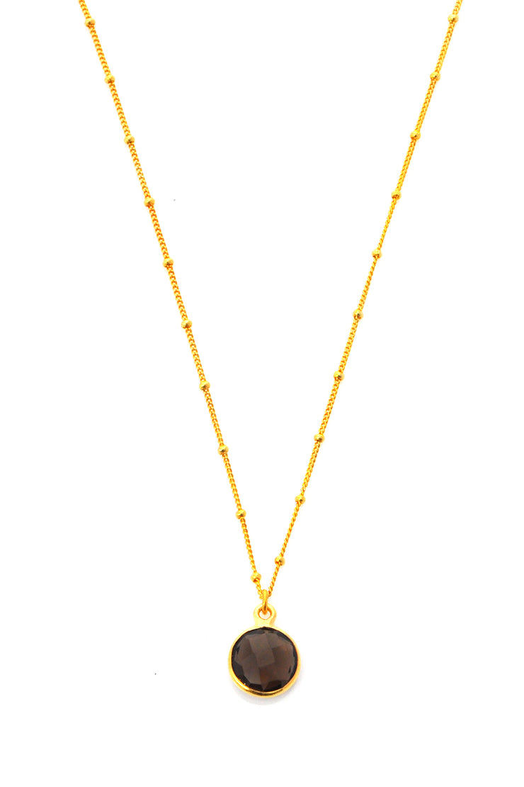Smoky Quartz Resolution Necklace