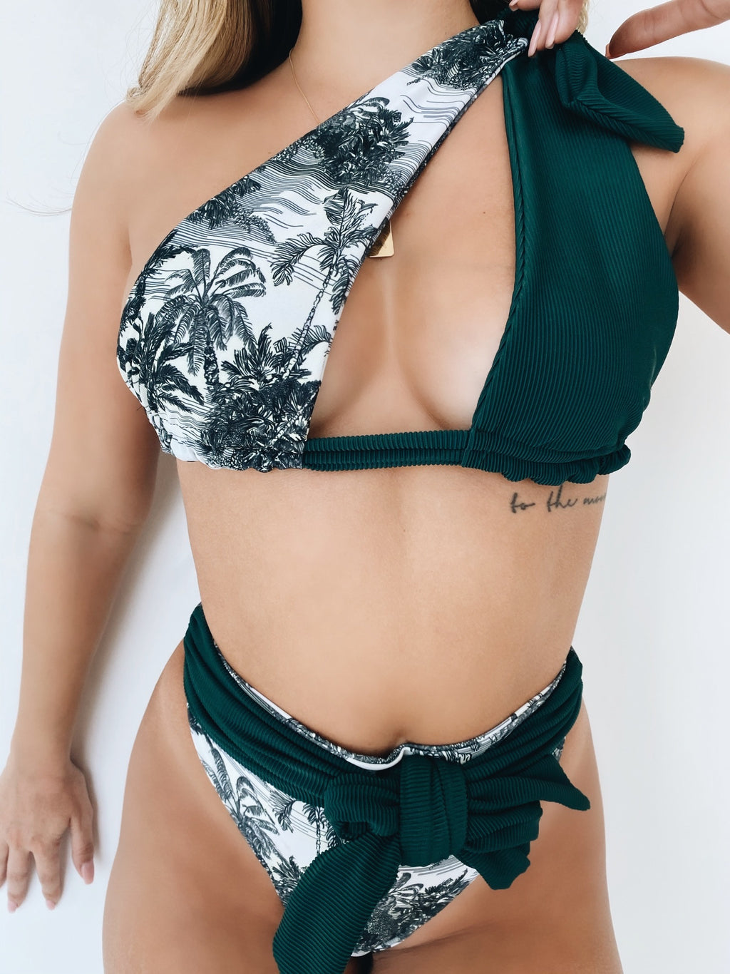 MOOREA HIGH WAISTED BIKINI SET