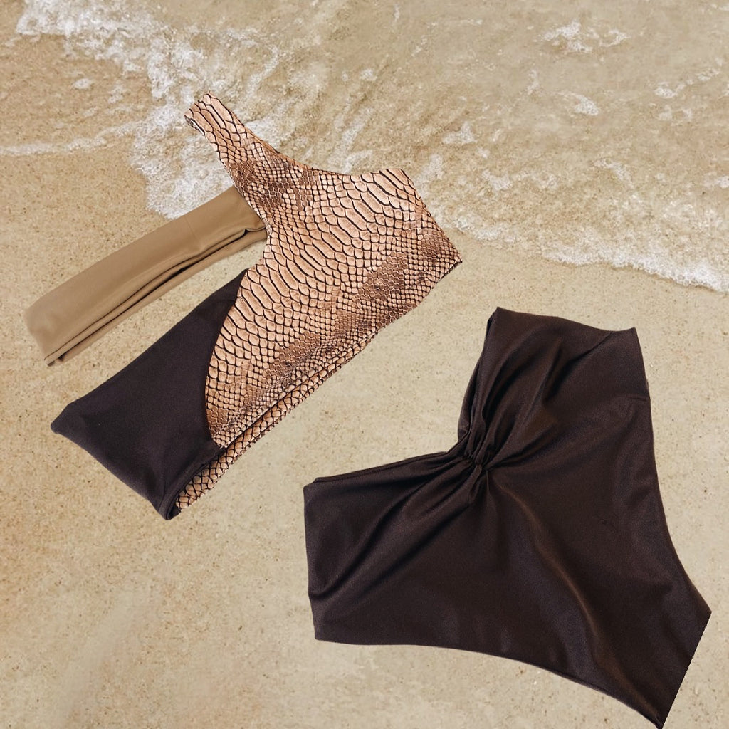 MALDIVES HIGH WAISTED BIKINI SET