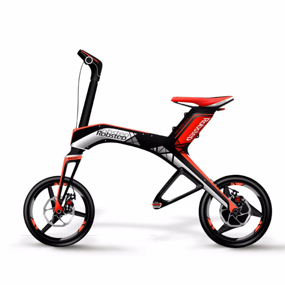 Robstep X1 Smart Folding Easy Portable Electric Bike With Lithium Ion Battery Technology