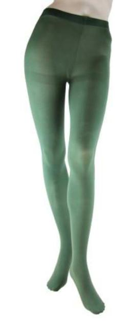 650426e0293a1 Large/Tall Microfiber Opaque Olive Tights Foot Traffic