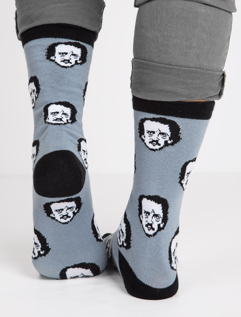 59acf70dd Men s   Women s Edgar Allan Poe Poe-ka Dot Socks