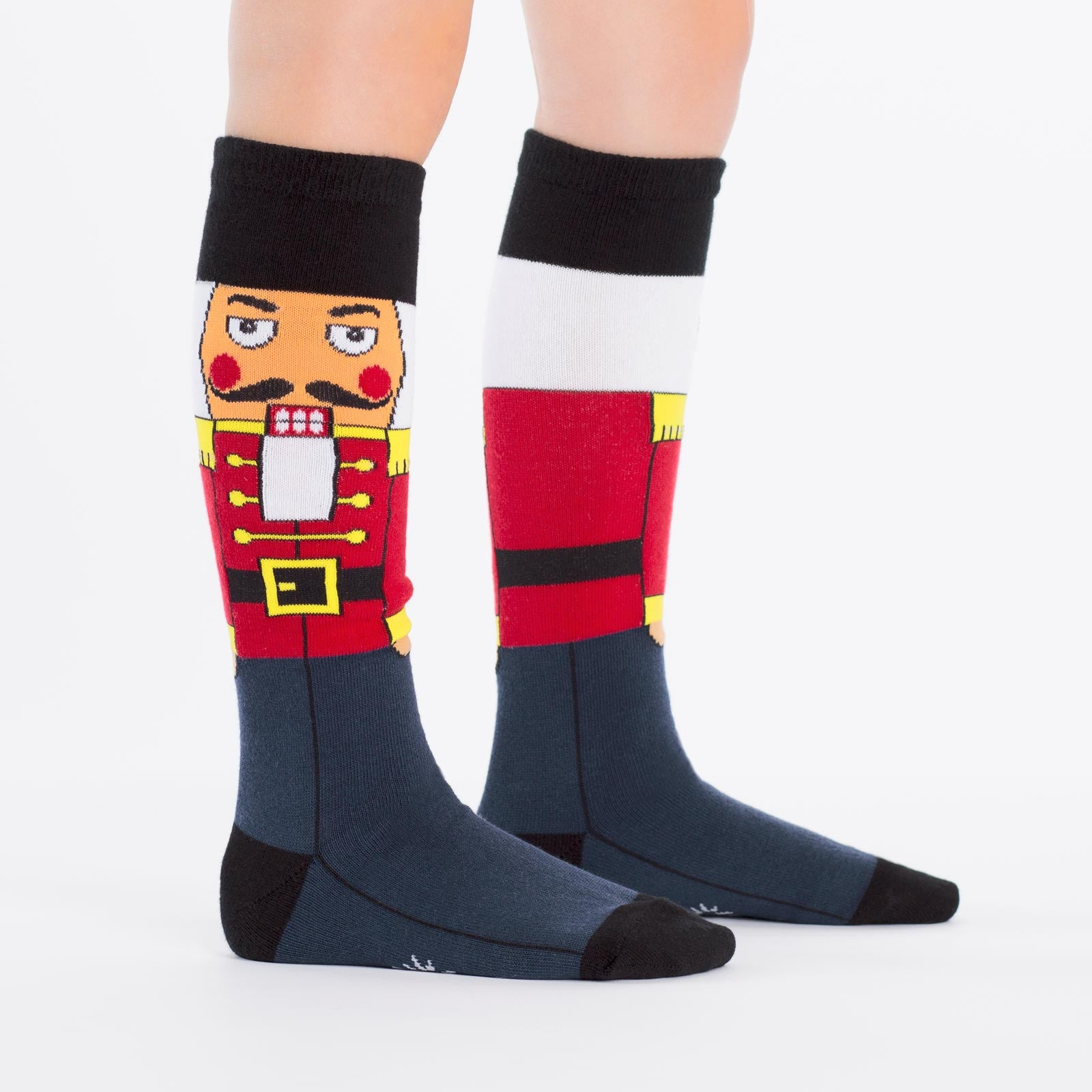 Christmas Socks - Kids' Nutcracker Knee High Socks | Joy ...