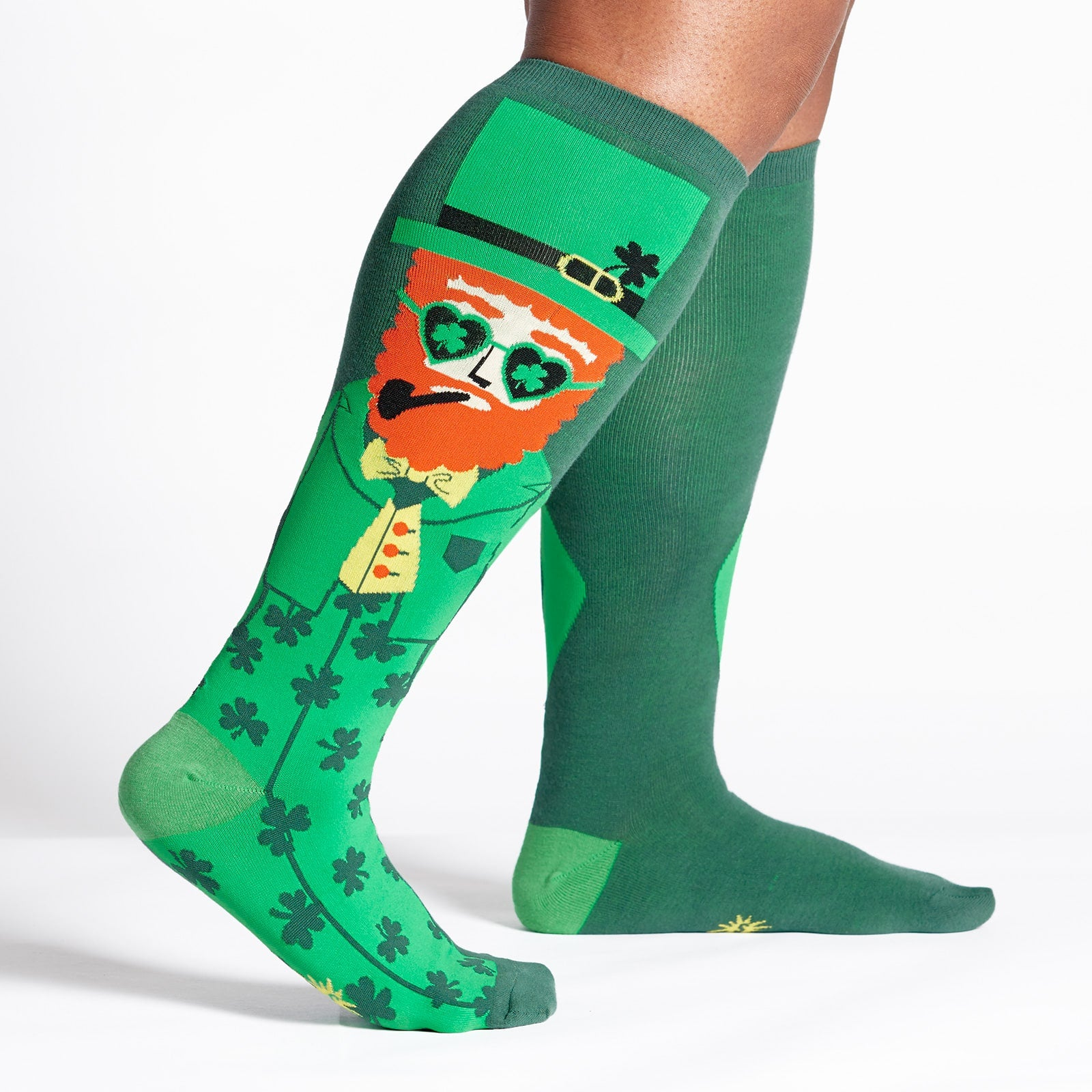 ee1767c04 Stretch It Your Lucky Charm Knee High Socks (Men   Women) Sock It To Me
