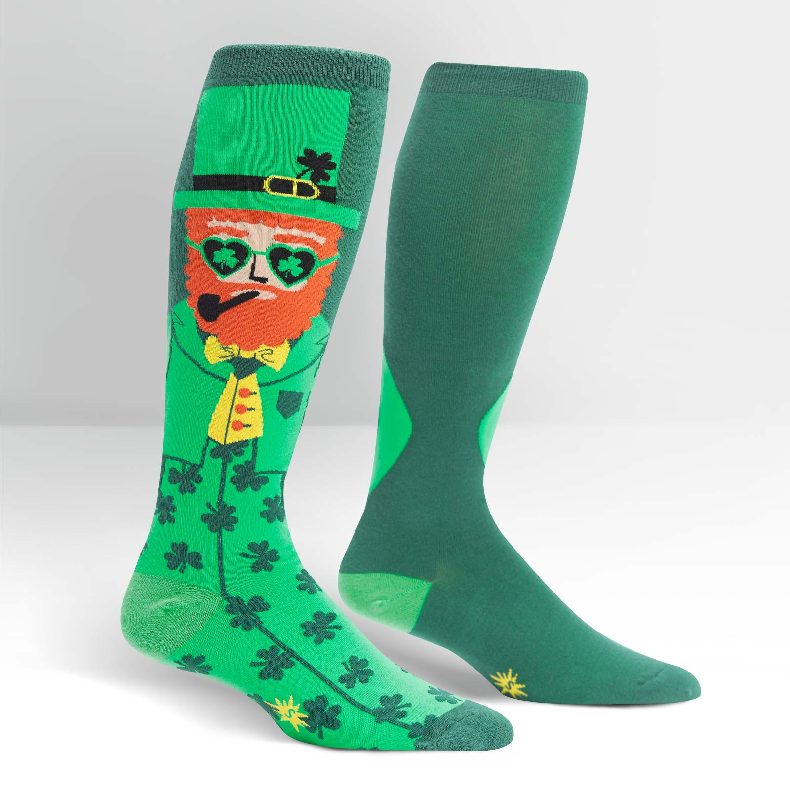 0e7c397bb Stretch It Your Lucky Charm Knee High Socks (Men   Women)