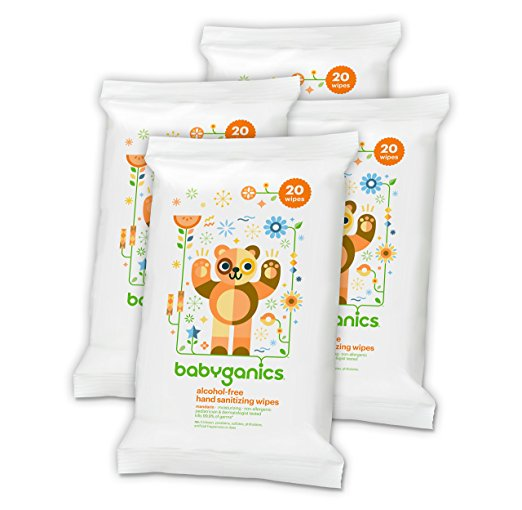 Babyganics Sanitizing Wipes