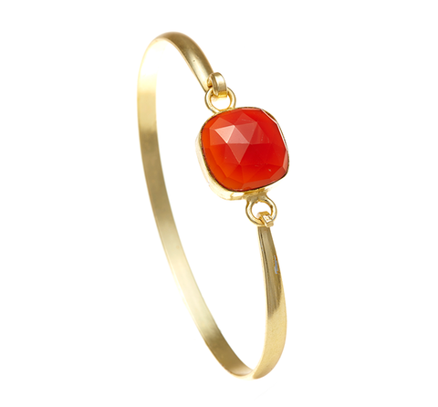 Carnelian Ileina Bangle