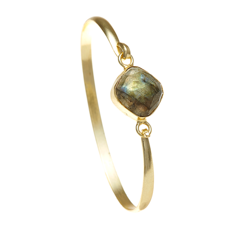 Labradorite Ileina Bangle