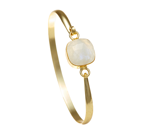 Moonstone Ileina Bangle