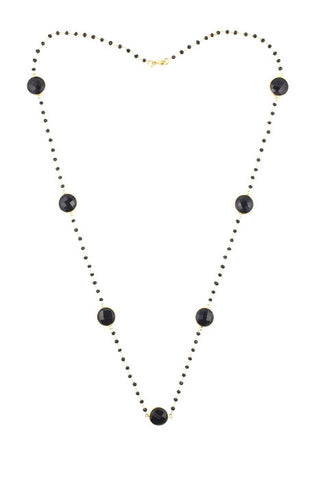Black Onyx Constellation Necklace
