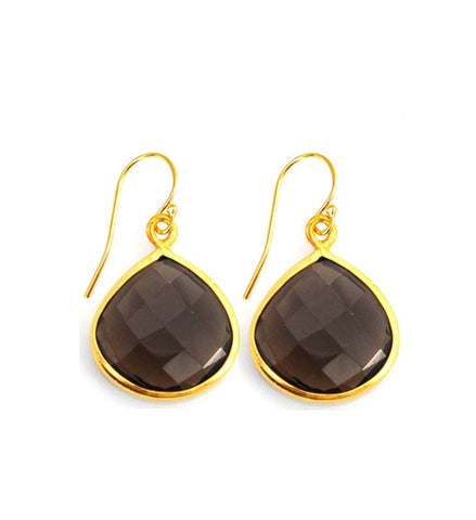 Smoky Quartz Inspiration Earrings