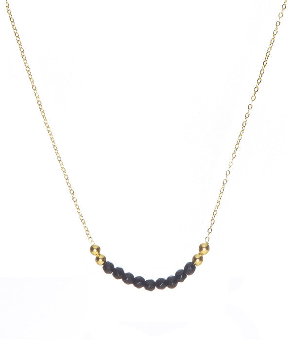 Black Onyx Kali Gem Necklace