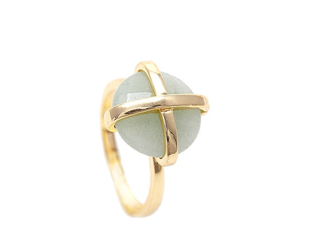 Green Aventurine Luck Collection Ring
