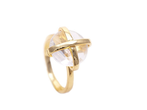 Crystal Quartz Luck Collection Ring