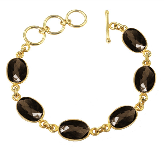 Sacred Jewels Smoky Quartz Radiance Bracelet