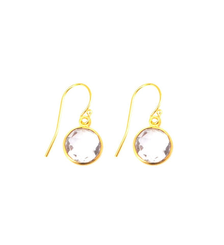 Crystal Quartz Resolution Earrings
