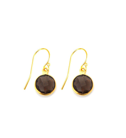 Smoky Quartz Resolution Earrings