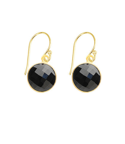 Black Onyx Unity Earrings