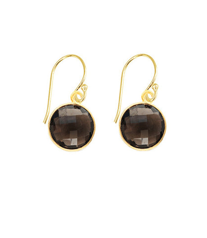 Smoky Quartz Unity Earrings