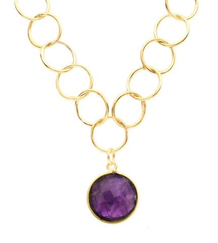 Sacred Jewels Amethyst Unity Necklace