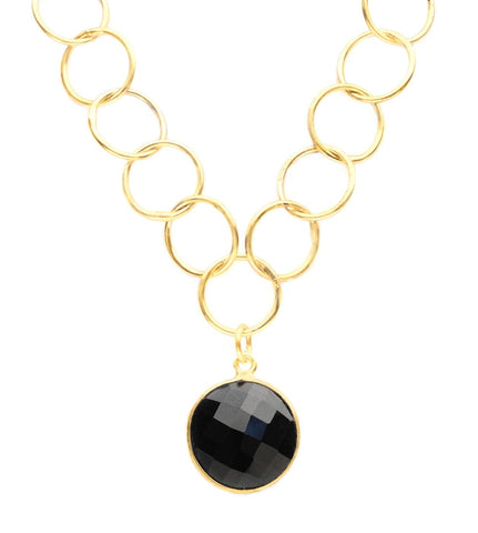 Sacred Jewels Black Onyx Unity Necklace