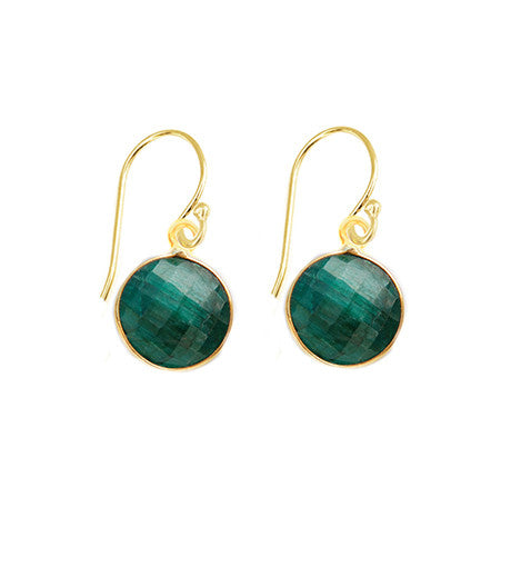 Precious Emerald Unity Earrings