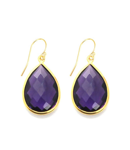 Sacred Jewels Amethyst Vision Earrings