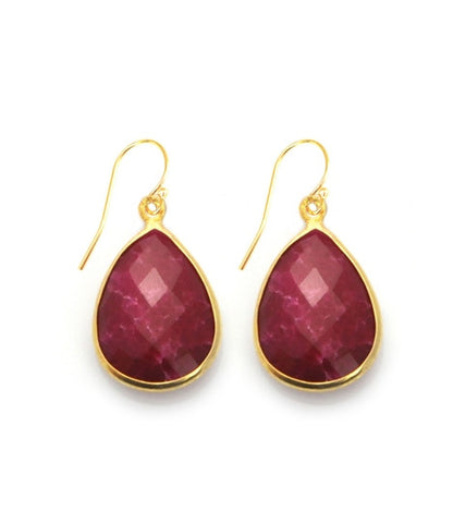 Sacred Jewels Precious Ruby Vision Earrings
