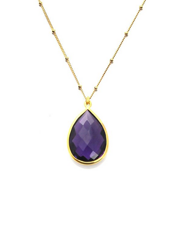 Amethyst Vision Chain Necklace