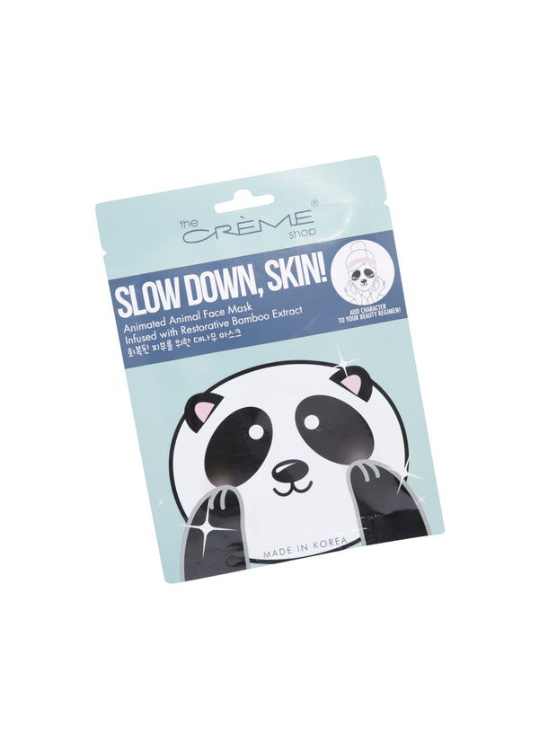 Slow Down, Skin! (Panda Face Sheet Mask) 🐼