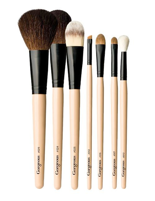 Gorgeous Cosmetics, 7-Piece Brush Collection