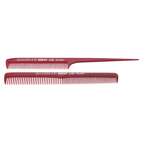 Krest Plastic Tail & Cutting Comb 2 pack
