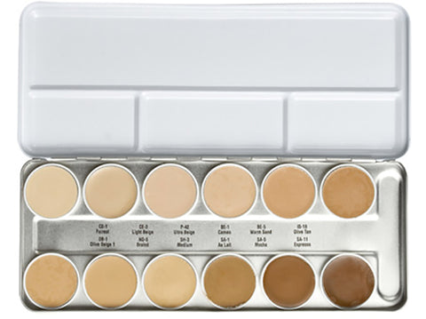 Ben Nye LFP-12 Essential Matte HD Foundation Palette
