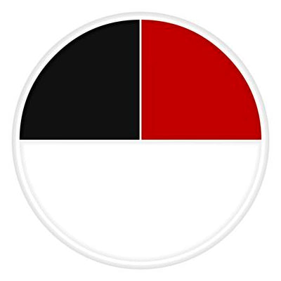 Ben Nye Red White & Black 3 Colors