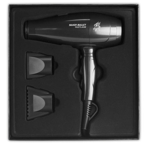 Silver Bullet Fastlane Hair Dryer Black