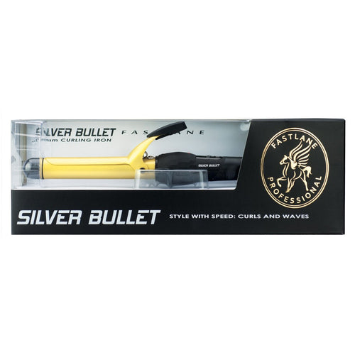 Silver Bullet Fastlane 25mm Curling Iron Ceramic.