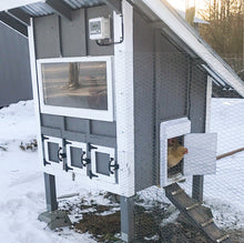 Automatic Chicken Coop Door and Controls