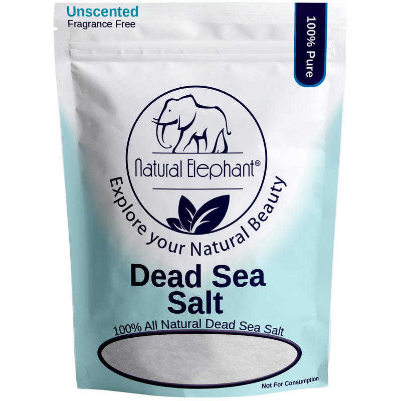 Fine Dead Sea Salt 100% Natural and Pure 1 lb (450 g)