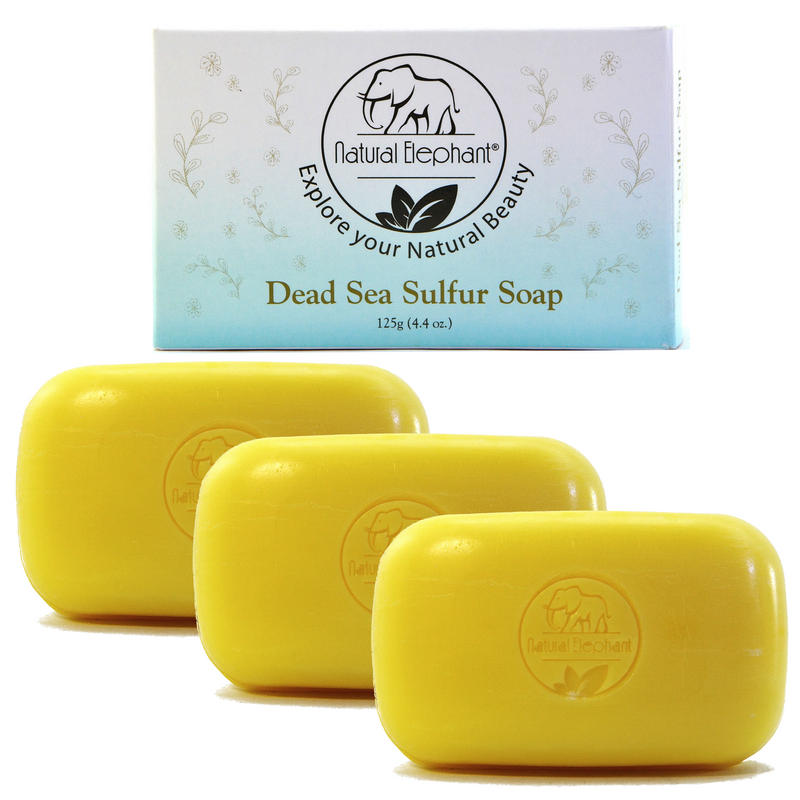 Dead Sea Sulfur Soap 4.4 oz (125 g)
