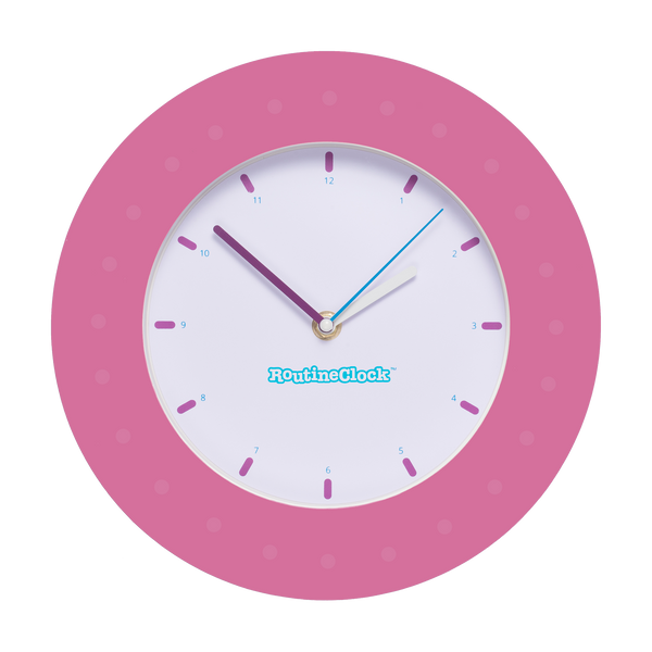 Horloge RoutineClock - Rose