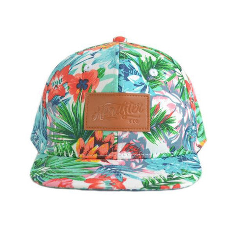 Casquette - Hawaiian White