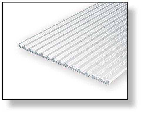 040 Quot 1 0mm Opaque White Polystyrene Board And Batten