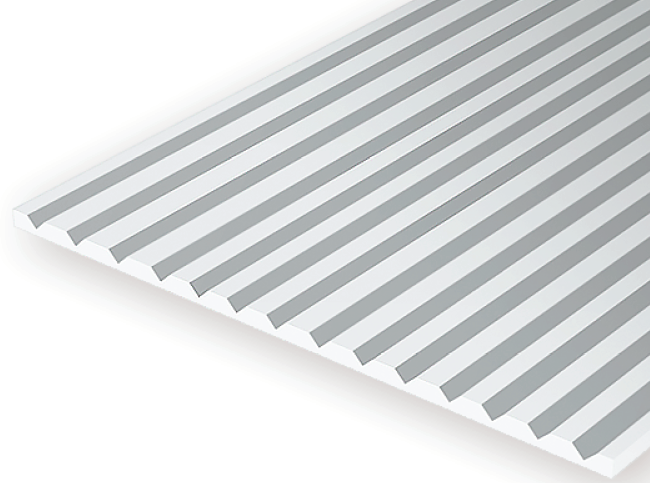 4060 060 Quot Opaque White Polystyrene V Groove Siding