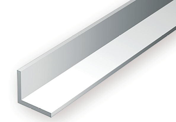 293 100 Quot 2 5mm Opaque White Polystyrene Angle