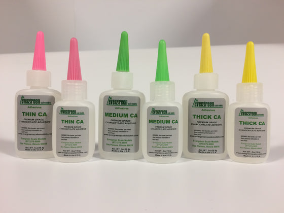 EVERGREEN ADHESIVES - Evergreen Scale Models