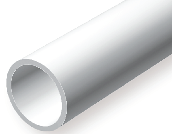 227 219 Quot 5 5mm Od Opaque White Polystyrene Tubing