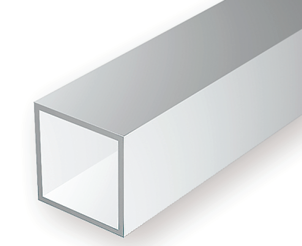 252 125 Quot 3 2mm Opaque White Polystyrene Square Tubing