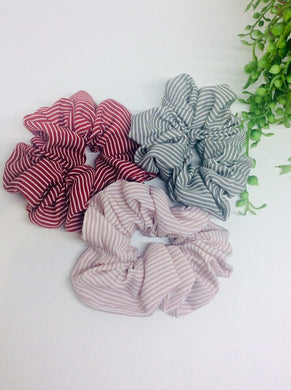 STRIPE SCRUNCHIES