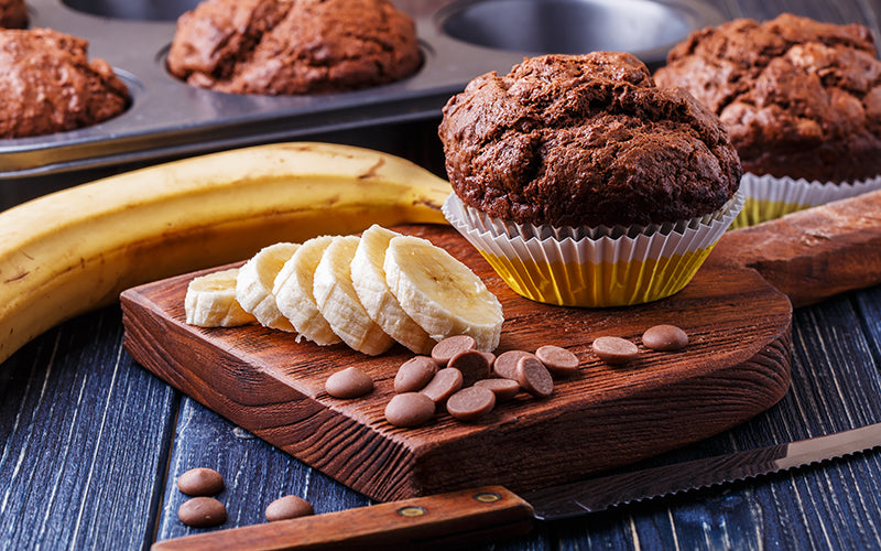 Nutriboba® Superfood Chocolate Banana Muffins