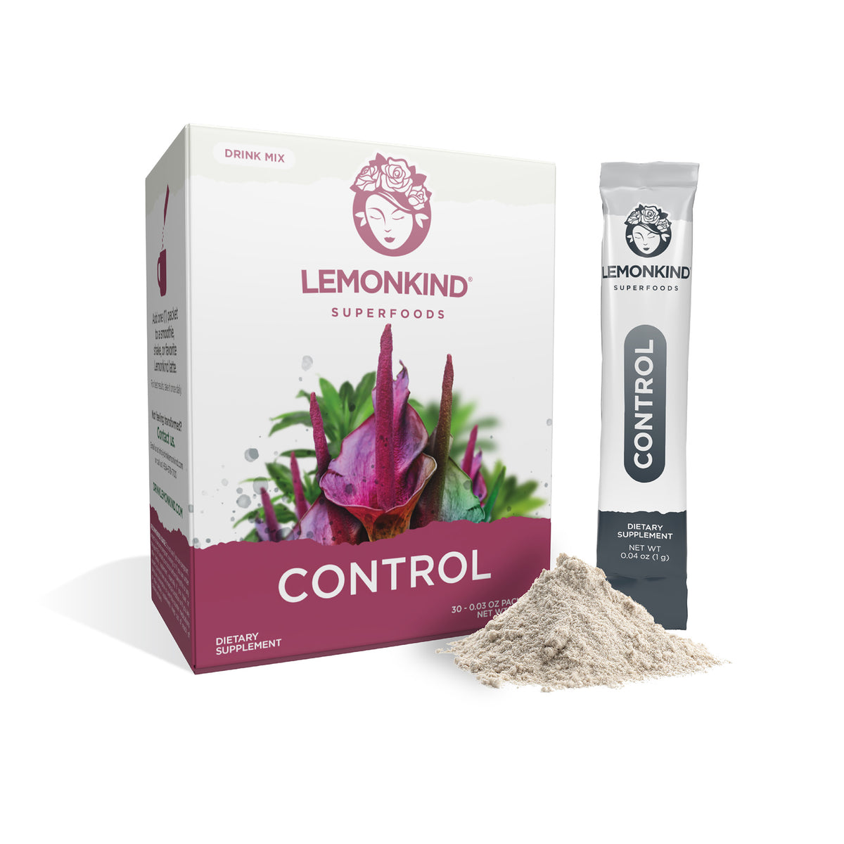 ZERO Calorie CONTROL - Appetite Suppressant (30 Stick Packs)